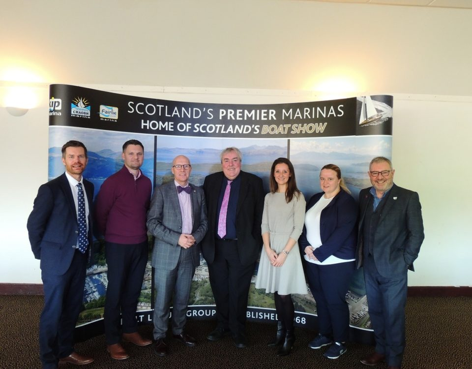 Visit Scotland CEO Malcolm Roughead with ICC Directors