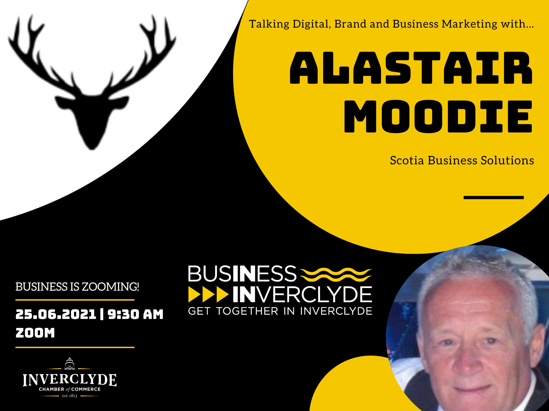 Business is Zooming - Alastair Moodie - June 2021