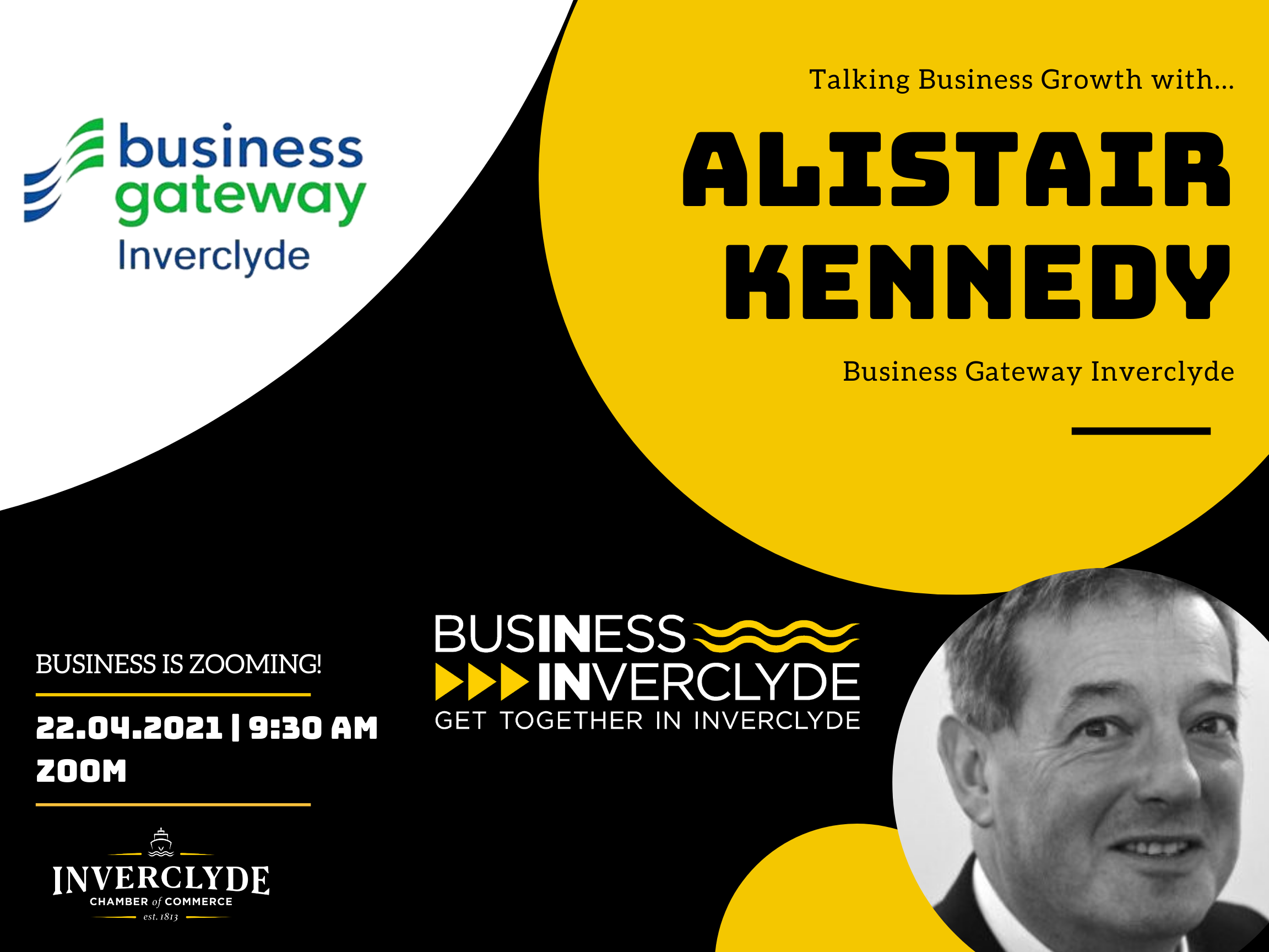 Business is Zooming - Alistair Kennedy - April 2021