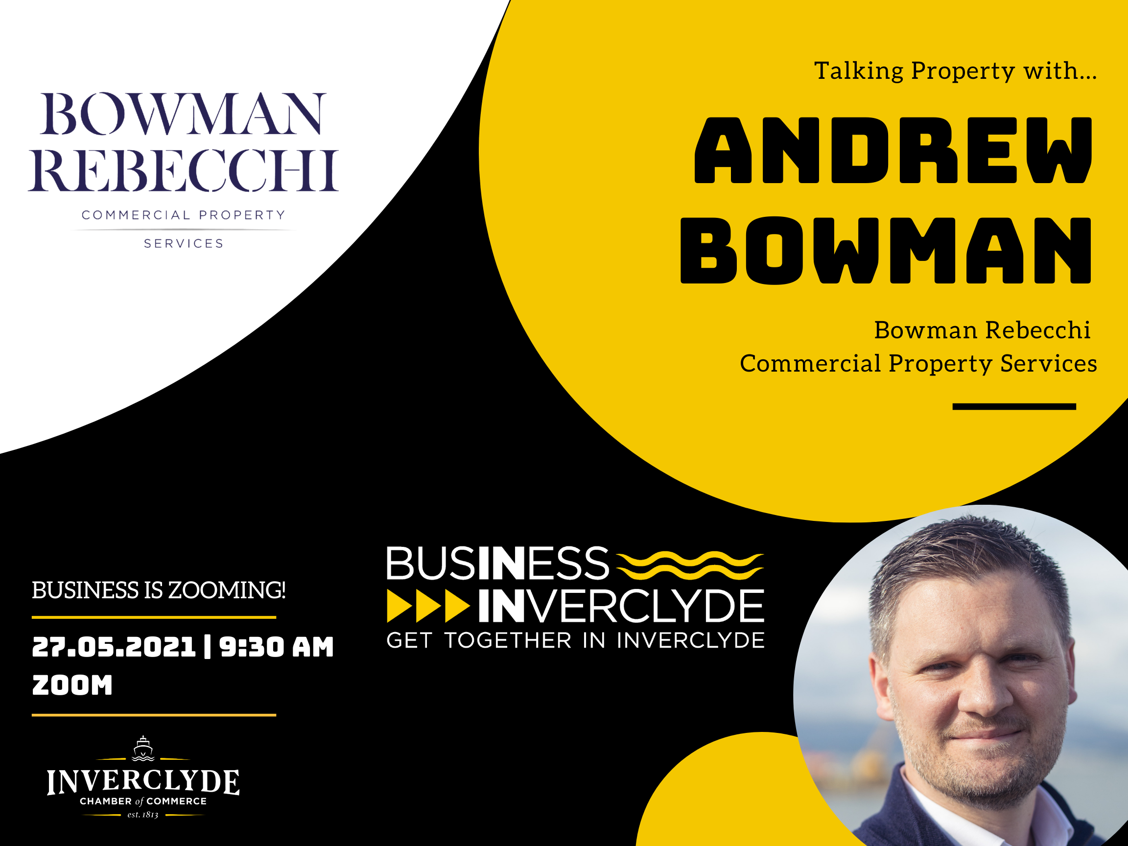 Business is Zooming - Andrew Bowman - May 2021